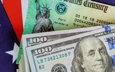 拜登上任接着发钱,每人$1400,非法移民不能领!最早2月到账
